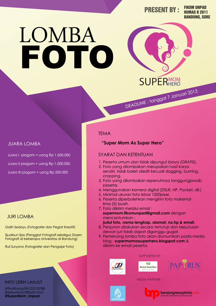 lomba foto super mom hero