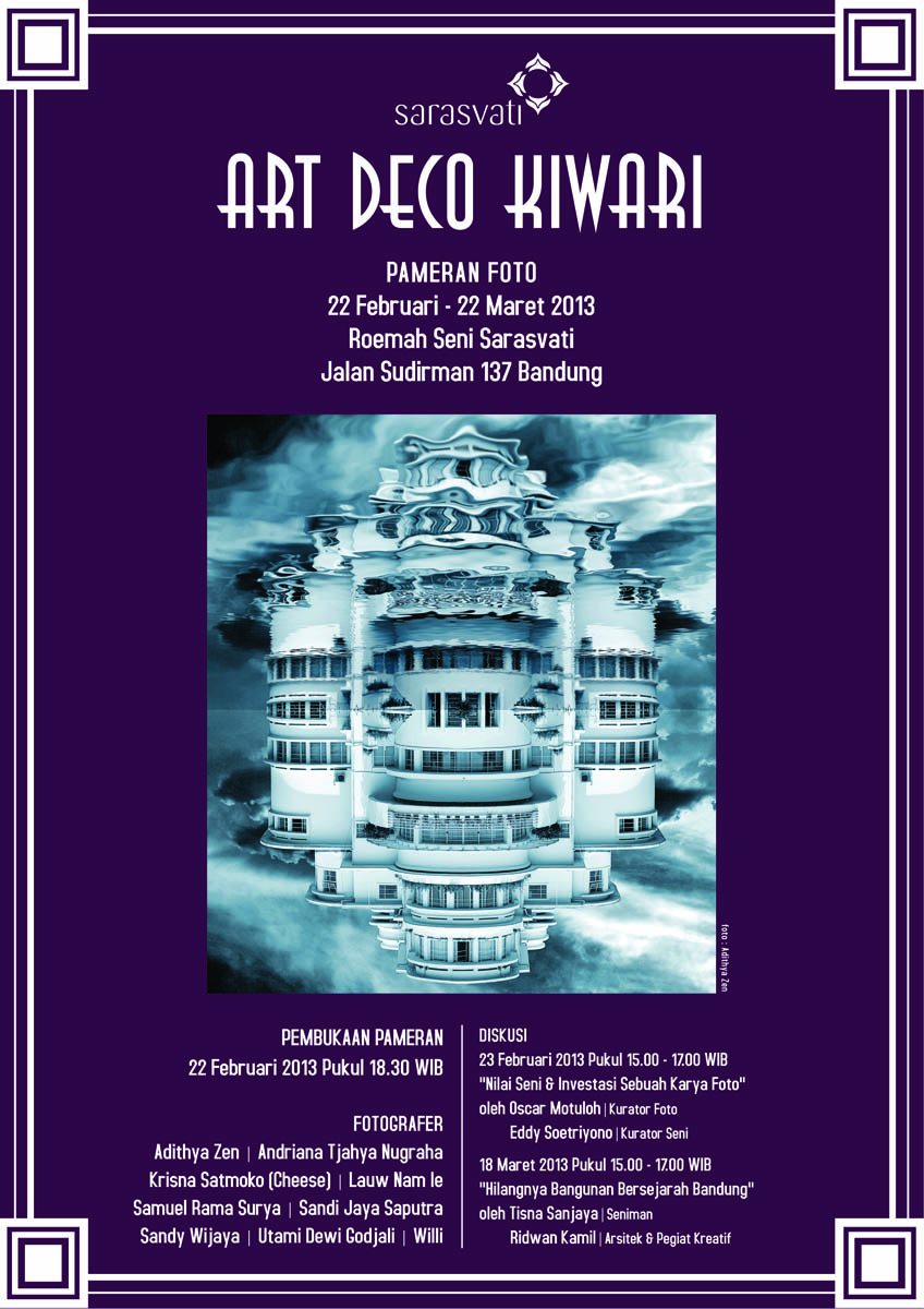 Art Deco Kiwari
