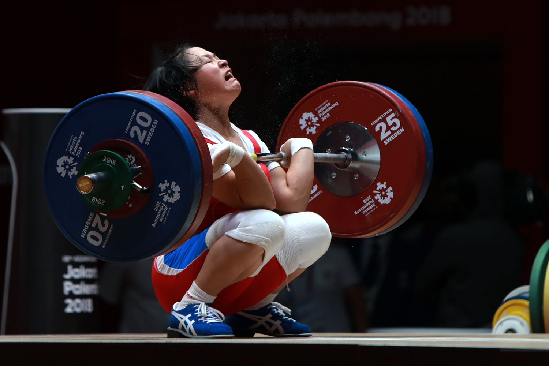 WIGHTLIFTING WOMEN'S 48 KG