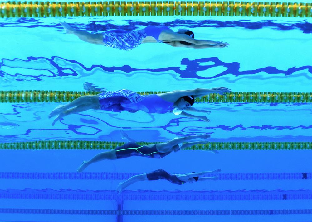 200m gaya ganti perseorangan putri, Stefan Sihombing