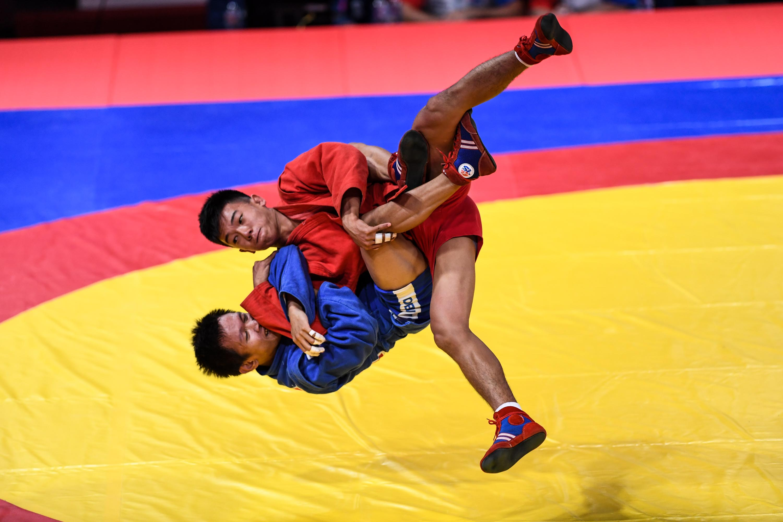 Atlet Sambo Indonesia