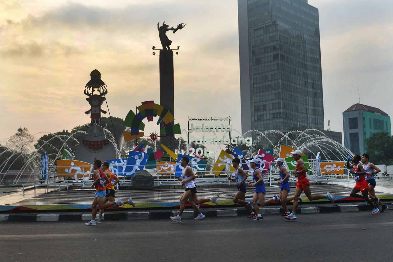 Lari Marathon Asian Games 2018